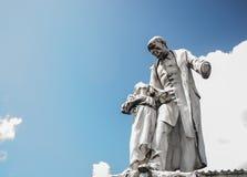 Άγαλμα Victor Schoelcher στο Fort-de-France Μαρτινίκα Στοκ Εικόνες