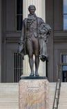 Άγαλμα Washington DC του Αλεξάνδρου Χάμιλτον αμερικανικού Υπουργείου Θησαυροφυλακίου Στοκ φωτογραφίες με δικαίωμα ελεύθερης χρήσης