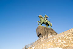 Άγαλμα Yulaev Ufa Ρωσία Salavat Στοκ φωτογραφίες με δικαίωμα ελεύθερης χρήσης