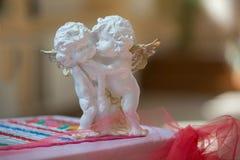 Άγγελοι γύψου στοκ φωτογραφίες με δικαίωμα ελεύθερης χρήσης