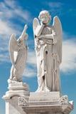 άγγελοι δύο λευκό Στοκ Φωτογραφία