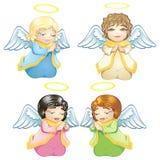 άγγελοι λίγα Στοκ εικόνα με δικαίωμα ελεύθερης χρήσης