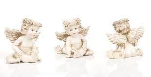 άγγελοι τρία Στοκ Φωτογραφία