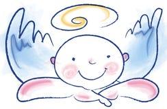 άγγελος αστείος Στοκ φωτογραφία με δικαίωμα ελεύθερης χρήσης