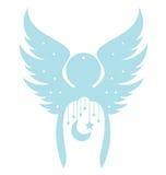 άγγελος διακοσμητικός Στοκ φωτογραφία με δικαίωμα ελεύθερης χρήσης