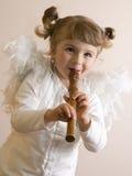 άγγελος ευτυχής Στοκ εικόνα με δικαίωμα ελεύθερης χρήσης