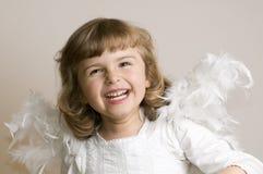 άγγελος ευτυχής στοκ φωτογραφίες