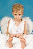 άγγελος καθαρός Στοκ Φωτογραφία