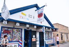 Άγγελος και διαδρομή 66 Vilmas κατάστημα δώρων στοκ εικόνα με δικαίωμα ελεύθερης χρήσης