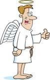 Άγγελος κινούμενων σχεδίων ελεύθερη απεικόνιση δικαιώματος