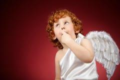 άγγελος λίγα Στοκ Εικόνες