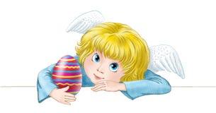 άγγελος Πάσχα Στοκ φωτογραφία με δικαίωμα ελεύθερης χρήσης