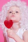 άγγελος χαριτωμένος Στοκ Εικόνα