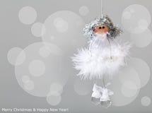 Άγγελος Χριστουγέννων Στοκ Εικόνες