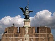 άγγελος castel Στοκ εικόνες με δικαίωμα ελεύθερης χρήσης