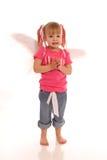 άγγελος girl1 λίγα Στοκ Εικόνα