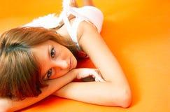 άγγελος wistful στοκ φωτογραφία με δικαίωμα ελεύθερης χρήσης