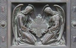 Άγγελοι ικεσίας στοκ φωτογραφία