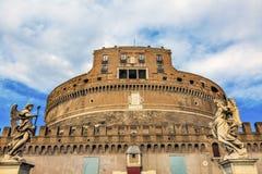 Άγγελοι Ρώμη Ιταλία Ponte Sant Angelo Βατικανό Bernini Castel Στοκ Φωτογραφίες