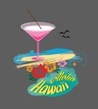 Άγγελοι Aloha_Hawaii_by_Art Στοκ φωτογραφία με δικαίωμα ελεύθερης χρήσης