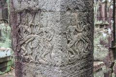 Άγγελοι Angkor στο ναό Angkor Wat Angkor Thom - Siem συγκεντρώνει, Γ Στοκ φωτογραφίες με δικαίωμα ελεύθερης χρήσης