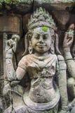 Άγγελοι Angkor στο ναό Angkor Wat Angkor Thom - Siem συγκεντρώνει Στοκ Φωτογραφίες