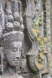 Άγγελοι Angkor στο ναό Angkor Wat Angkor Thom - Siem συγκεντρώνει Στοκ εικόνες με δικαίωμα ελεύθερης χρήσης