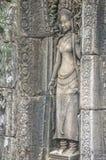Άγγελοι Angkor στο ναό Angkor Wat Angkor Thom - Siem συγκεντρώνει Στοκ Εικόνα