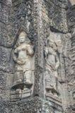 Άγγελοι Angkor στο ναό Angkor Wat Angkor Thom - Siem συγκεντρώνει Στοκ φωτογραφία με δικαίωμα ελεύθερης χρήσης