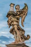 Άγγελος από Bernini στο Castel Sant ` Angelo Στοκ φωτογραφίες με δικαίωμα ελεύθερης χρήσης