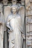 Άγγελος, καθεδρικός ναός της Notre Dame, Παρίσι Στοκ εικόνες με δικαίωμα ελεύθερης χρήσης
