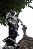 Άγγελος και θάνατος Στοκ Εικόνες