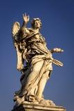 Άγγελος με τα καρφιά Στοκ φωτογραφία με δικαίωμα ελεύθερης χρήσης