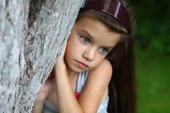 Άγγελος μικρών κοριτσιών Στοκ Εικόνες