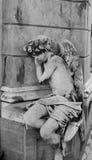 Άγγελος Μπουένος Άιρες αγοριών ύπνου Στοκ Εικόνες