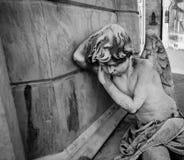 Άγγελος Μπουένος Άιρες αγοριών ύπνου Στοκ εικόνες με δικαίωμα ελεύθερης χρήσης