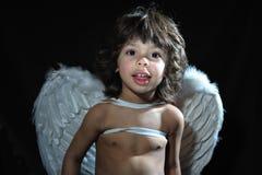 Άγγελος μωρών Στοκ Φωτογραφία