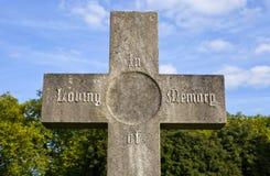 Άγγελος νεκροταφείων Στοκ Εικόνα