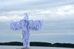 Άγγελος πέρα από τον ποταμό Στοκ εικόνα με δικαίωμα ελεύθερης χρήσης