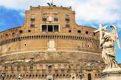 Άγγελος Ρώμη Ιταλία Ponte Sant Angelo Βατικανό Bernini Castel Στοκ εικόνα με δικαίωμα ελεύθερης χρήσης