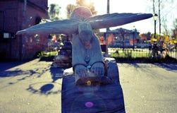 Άγγελος στην πόλη Στοκ Εικόνες