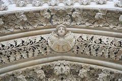 Άγγελος στην πύλη του καθεδρικού ναού του Ζάγκρεμπ Στοκ Εικόνα