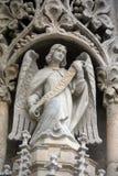 Άγγελος στην πύλη του καθεδρικού ναού του Ζάγκρεμπ Στοκ Εικόνες