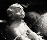 Άγγελος στον κήπο Στοκ Φωτογραφίες