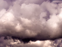 Άγγελος στον ουρανό Στοκ Εικόνα