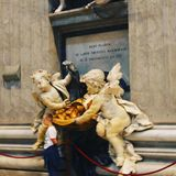 Άγγελος στον ώμο Στοκ φωτογραφία με δικαίωμα ελεύθερης χρήσης