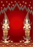 άγγελος Ταϊλανδός Στοκ Φωτογραφία