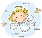 άγγελος χαριτωμένος Στοκ εικόνα με δικαίωμα ελεύθερης χρήσης