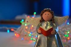 Άγγελος Χριστουγέννων Στοκ εικόνες με δικαίωμα ελεύθερης χρήσης