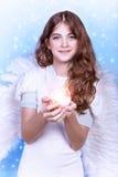 άγγελος όμορφος Στοκ Εικόνες